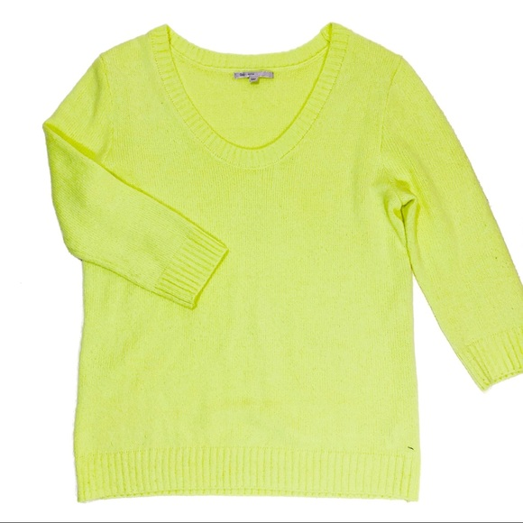 Gap Women's Neon Green Sweater Size Medium